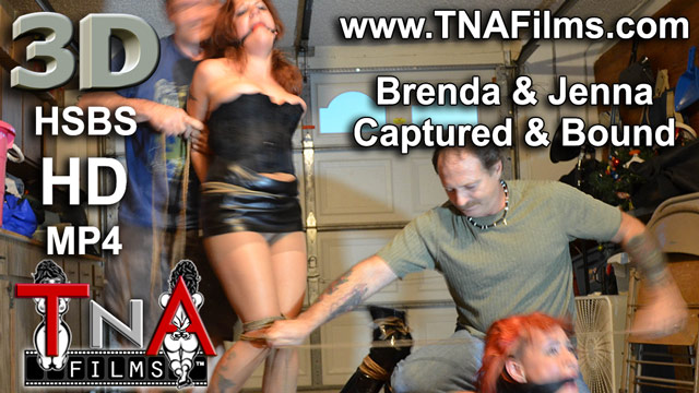 3D Brenda and Jenna Captured and Bound Tied up Preview