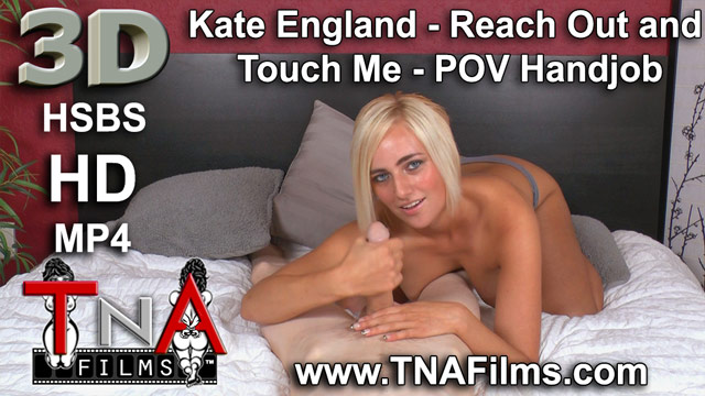 3D Kate England 100% POV 3D Handjob Porn and 3D Fetish Video