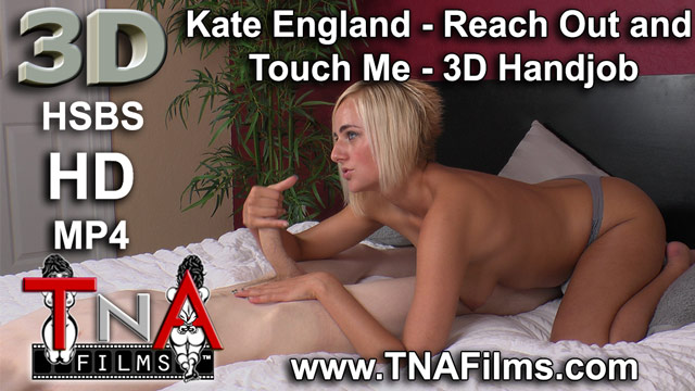 3D Kate England 2 Camera 80% POV Handjob 3D Porn and Fetish Video