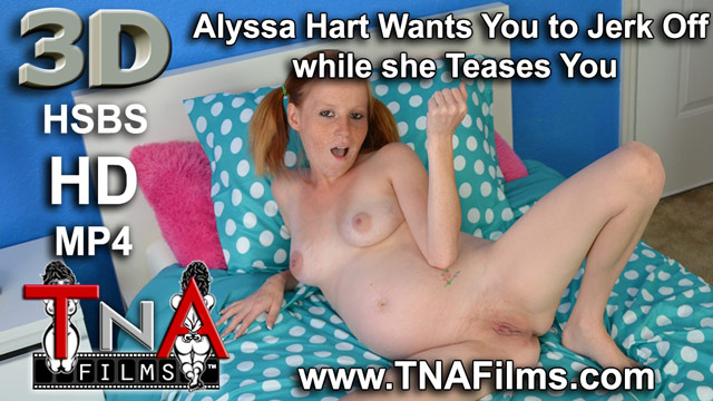 3D Taboo Star Alyssa Hart Pregnant Tease and Masturbation Instruction Fetish Video