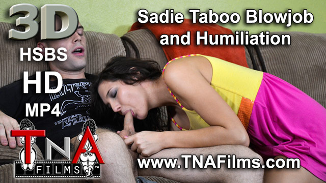 3D Sadie Holmes Brother Sister Taboo Blowjob and Humiliation Fetish Porn Video Clip