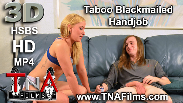 3D Taboo Blackmailed Handjob Porn and Fetish Video