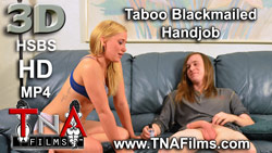 3D Blackmailed Handjob Porn Video