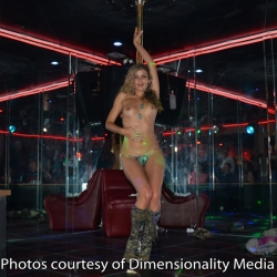 Prinzzess Felicity Jade performs at Bare Assets North