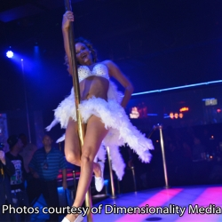 Prinzzess Felicity Jade performs at 2013 NightMoves Awards Show